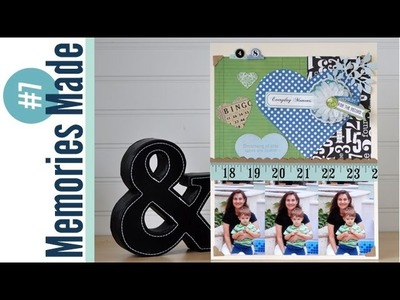 Memories Made #7 Scrapbooking Process Video: Everyday Moments