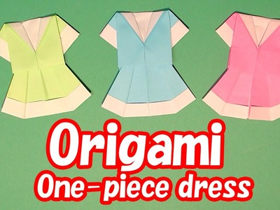 Origami One-Piece Dress How to make