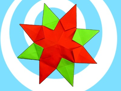 Origami Sunburst Star Instructions