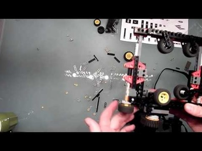 Panasonic Lumix GH2 with DIY Lego Technic Follow Focus