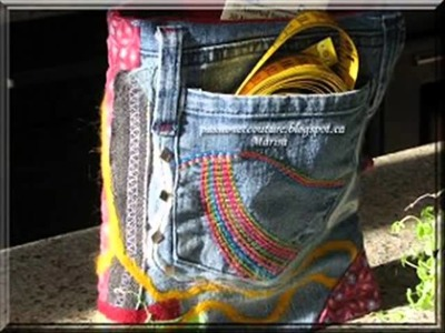 Recycle Old Jeans Into Cute
