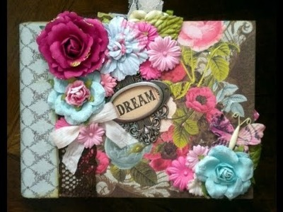 Scrapbook Tutorial: Triple Pocket Page for Mini Albums