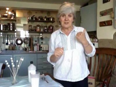 Series 1 - part 21 - Making papier-mache beads - 2