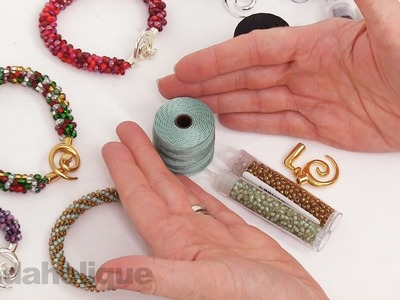 Show & Tell: Beadaholique Exclusive Kumihimo Bracelet Refill Kits