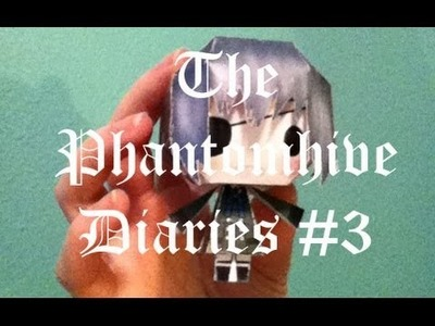 The Phantomhive Diaries #3:  How to make a Papercraft Chibi