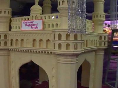 Thermocol Craft -- Make Charminar Model - V.Babji, Hyderabad