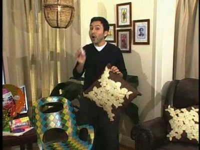 While You Were Out's Mark Montano Demonstrates DIY Crafts