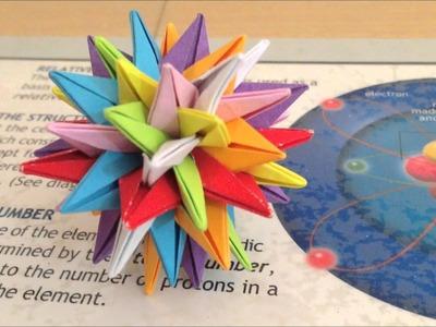 World's Smallest Origami STUVWXYZ Star