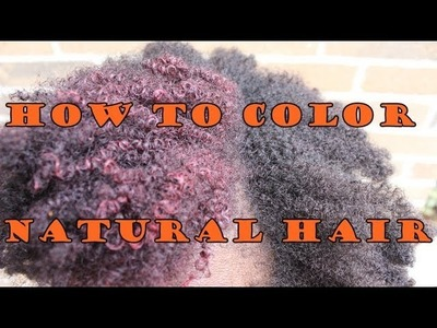 206 * How to Color Natural Hair without Damaging It