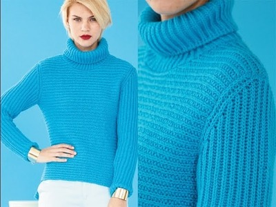 #29 Sideways Turtleneck, Vogue Knitting Fall 2013