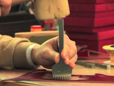 [Arte di mano] The handwork of JnK - Leica half case making movie