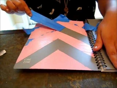 Back to School: DIY Chevron Agenda Book