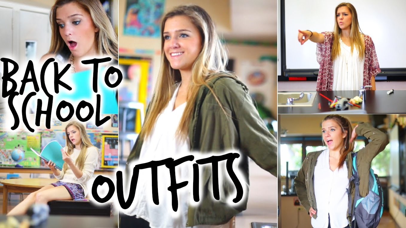 Back To School Outfit Ideas!