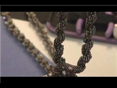 Beading Tips & Techniques : How to Make Spiral Beaded Necklaces