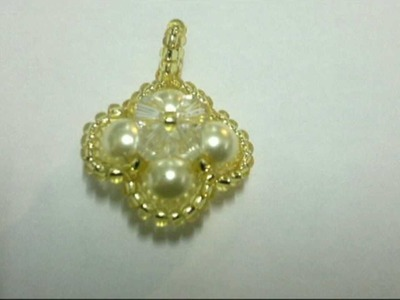 Beading4perfectionists : Keeping seedbeads in place when beaded around pearl tutorial