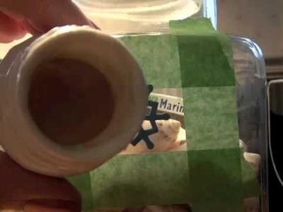 Cookie Jar Present - DIY Glass Etching