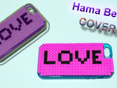 Cover Telefono con Hama Beads Phone Case with Perler Beads