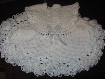 Crochet baby party dress video three