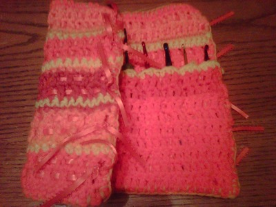 Crochet hook holdder  (part two)