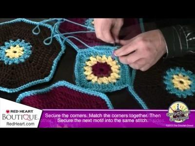 Crochet Octagon & Square Tutorial: Video 3