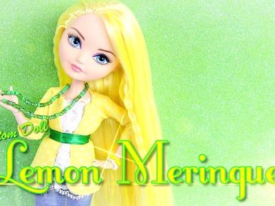 Custom Doll: Strawberry Shortcake Lemon Meringue - Doll Crafts