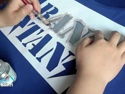 DIY: Bangtan Boys T-shirt painting