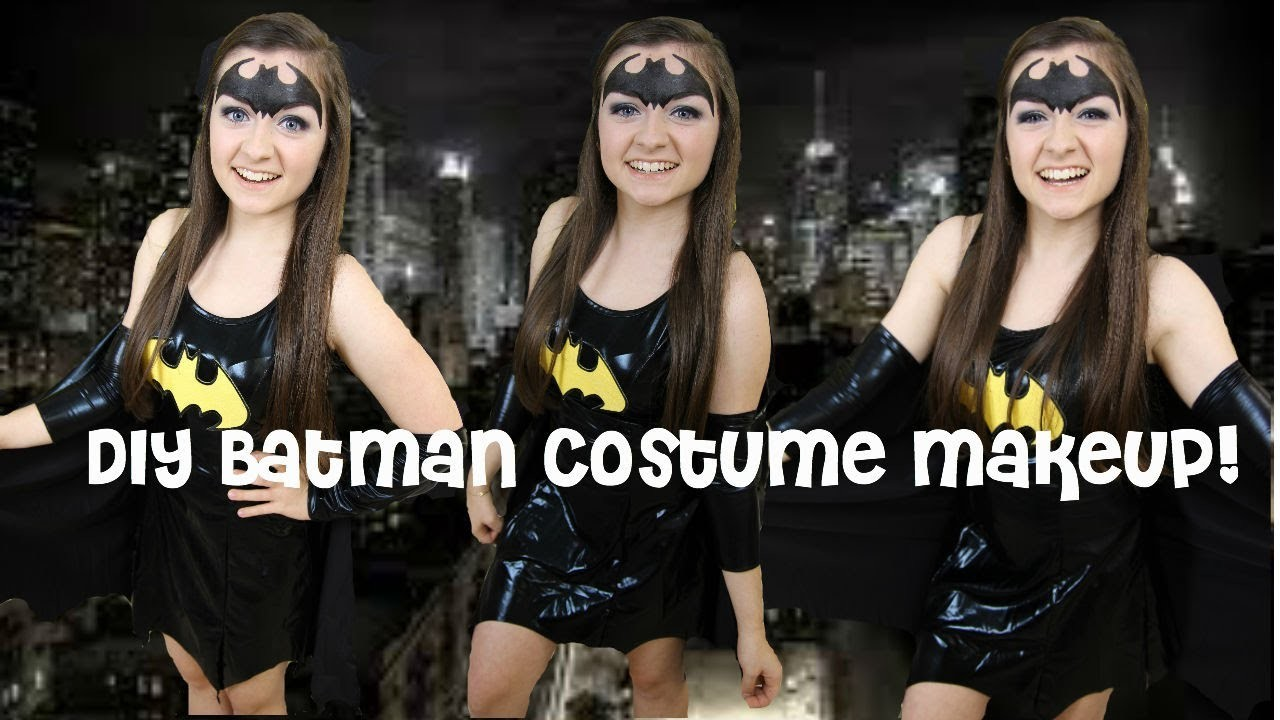 DIY Batman The Dark Knight Halloween Makeup & Costume!