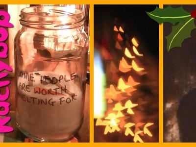 DIY Christmas Crafts [Collab with Tara Creel] | Rachybop