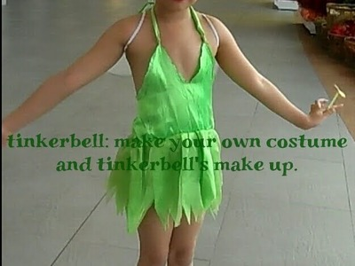 DIY: Do your own Tinkerbell costume and make up