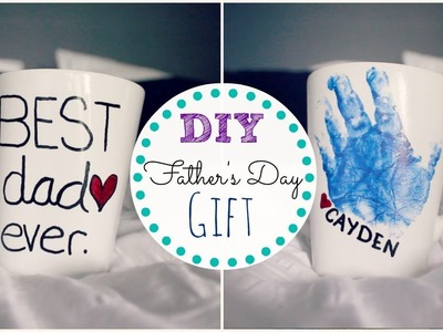 DIY FATHERS DAY GIFT || MickIsAMom