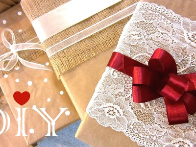DIY Gift Wrapping Ideas | How to Make a Bow for a Gift