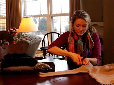 DIY Leg Warmers in less than 1 minute