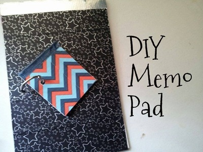 **DIY Memo Pad and Mini Memo Pad Tutorial**
