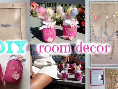 DIY Room Decor for Summer ☼ Cute, Cheap & Easy! + Tips. How to Stay Organized!