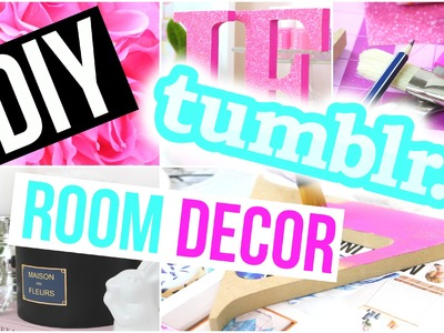 DIY Tumblr Inspired Room Decor! Easy + Cheap ♡ Gillian Bower