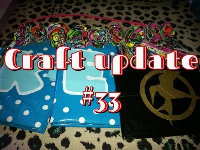 Duct tape craft update #33