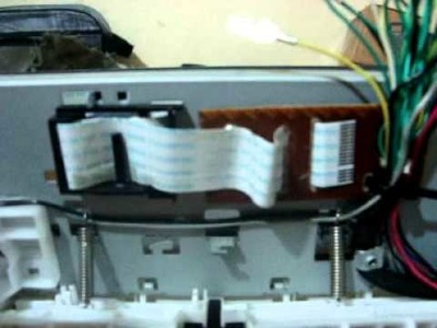 Hacking printer epson sx100  DIY Homemade .wmv
