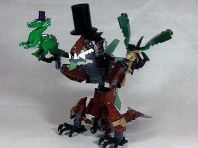 How To Build: Fancy LEGO Dragons
