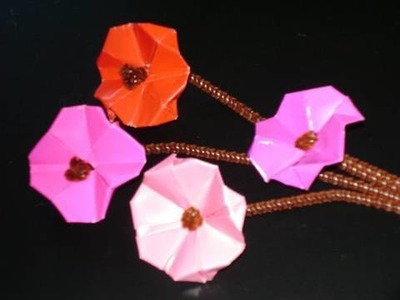 How to make a craft-gami cherry blossoms - EP