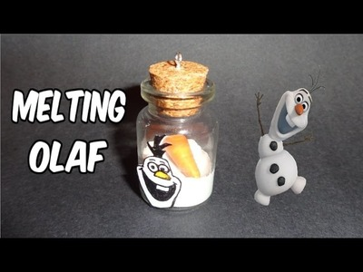 How to Make a Frozen's Melting Olaf Bottle Charm