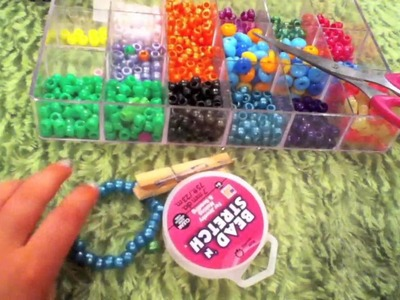 How to make a kandi.pony bead multi cuff
