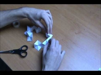 How to make a Papercraft Yoshimoto Cube by FK (detailed version)