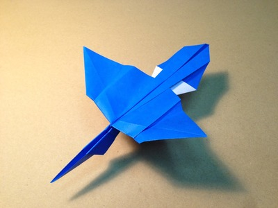 How to make an Origami Plane