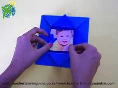 How to make origami Photoframe