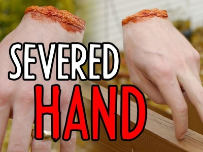 How-to: Severed Hand & More DIY Mogulween Effects! : Indy News