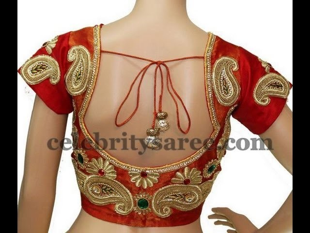 Latest kundan, Jardosi, Spring and Beads work Designer Blouses
