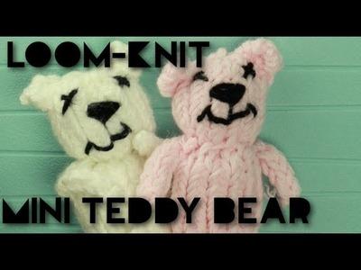 Loom-knit Mini Bear!