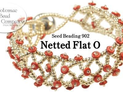 "Make a ""Netted Flat O"" Bracelet"