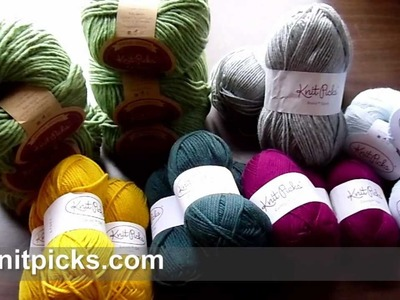 My December 2012 Yarn Haul from KnitPicks.com