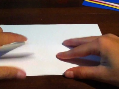 Origami Envelope - tutorial